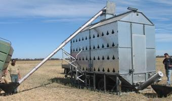 Bulk Grain Dryer